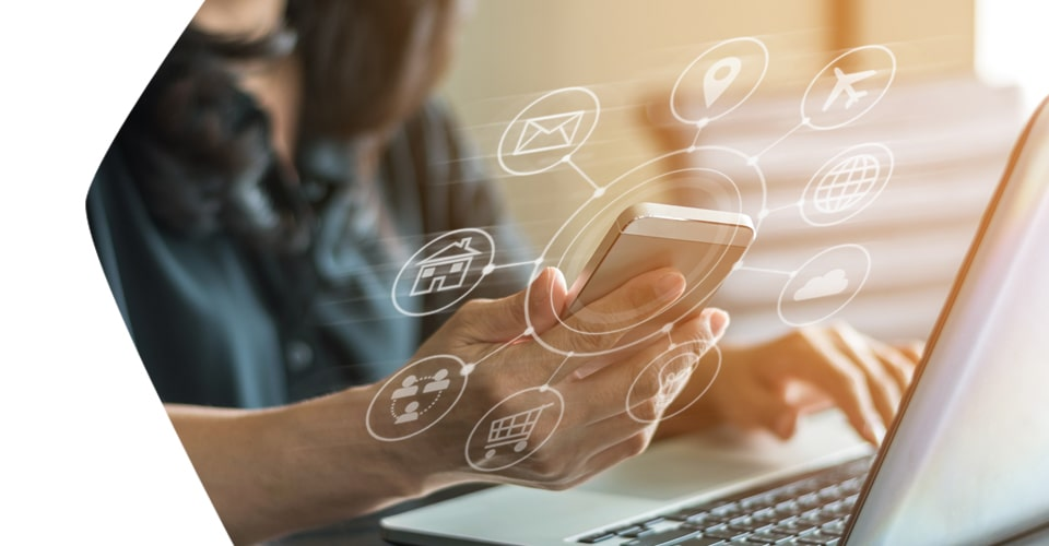 Solutions web et mobiles intégrées à l'ERP