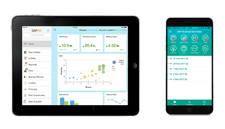 SAP Business One v10 la mobilité